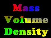 3.2 mass and volume