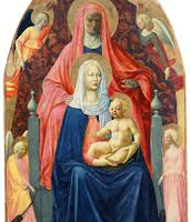 The Virgin Child with Saint Anne