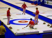 Team of curlers