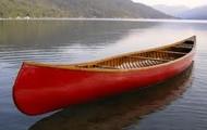 bark canoes that were light