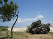 Remnants of the war in Sri Lanka