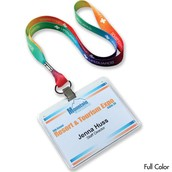 Badge holders and Lanyards