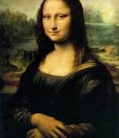 Drawing of Mona Lisa