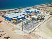 A desalination plant
