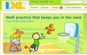 IXL Math site