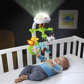 3 in 1 Deluxe Projection Mobile: $50