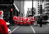 HO! HO! HO! Are those sleigh bells I hear, dear Rudolph? HO! HO! HO!