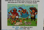 Fiesta Time this Saturday!  Come and join the fun.