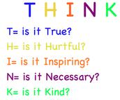 T.H.I.N.K twice before you post.