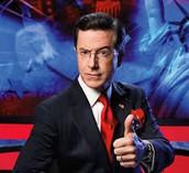 Stephen Colbert is running for president.