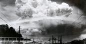 Nuclear Bomb in Nagasaki
