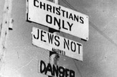 """""""Christians Only, Jews Not Allowed, Danger"""""""