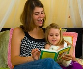 Reading time is QUALITY time!
