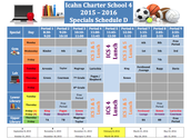 Specials Schedule D (February 5th - March 18th)