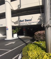 East Tower: Park Here