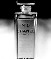 Chanel No. 5 perfume bottle