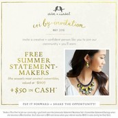 C+I by Invitation Incentive!