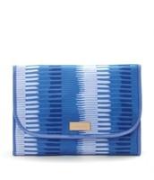Hang on Travel Case - Indigo stripe Reg $39, Now $20