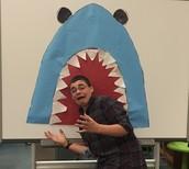 Creating the Shark Selfie board