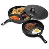 SECTIONED COOKING PAN SET