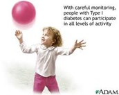 Children can lead a happy and healthy life with diabetes!