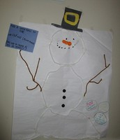If you're in Livingston, drop in our office and visit our Wishful Snowman!