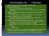 Funciones del Equipo de Orientación