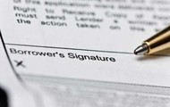 Sign your loan documents