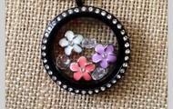 Beautiful new black locket for summer 2013