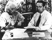 Albert Einstein and Enrico Fermi