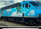 a modern locomotive
