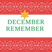 December Remember-All the stuff going on!!