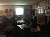 GoNoodle Brain Break In Ms. Barrett's Class!