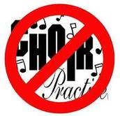 No Choir Practice