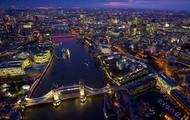 Birds eye of London, England