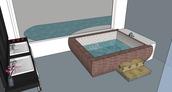 Interior Master Bath View