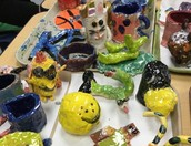 4th Grade Ceramics
