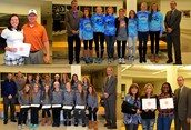 PVHS Students Honored by Board for Athletic Achievements