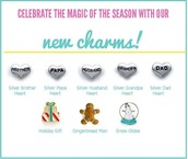 New {Limited Edition} Holiday & Family Charms