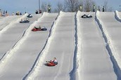 Tubing at Snow Creek