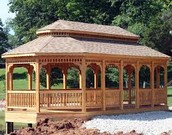 Wooden gazebos for your garden