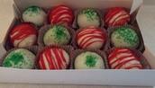 Box of 12 cake balls - $7