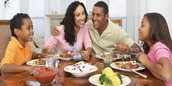 Family Mealtime is healthy, and not just the meal