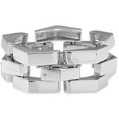 Garbo Link Bracelet - Silver