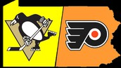 The Flyers' biggest rival is the Pittsburgh Penguins