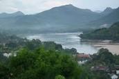 The Ganges river