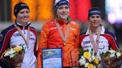 Jorien ter Mors took gold in the 1500 meters