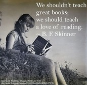 Teach a love of reading!