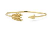 Gilded Arrow Bangle $39