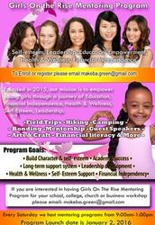 Girls On the Rise Mentoring Program
